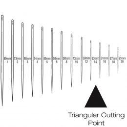 Straight Triangular Cutting Needle