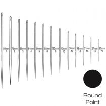 Straight Round Bodied Needle