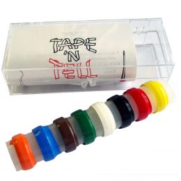 TAPE 'N' TELL Identification Tape