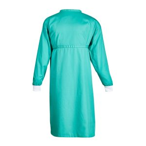 Green Polycotton Gown