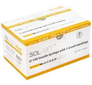 U100 Insulin Syringes